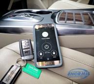 2017 Acura MDX Remote Start SMARTPHONE