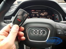 Q7 Remote can also Start car