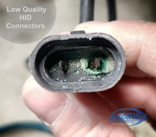 Low Quality Aftermarket Electrical Connector