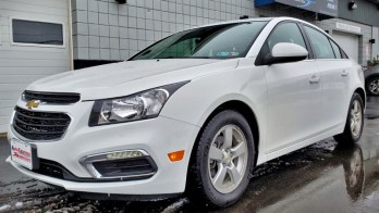 2016 Chevy Cruze gets Heated Seats with Matching Knobs for Erie Client