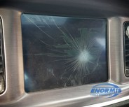 Dodge Charger Screen Before it was Serviced