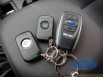 2019 Outback Fob and 2 way Remote