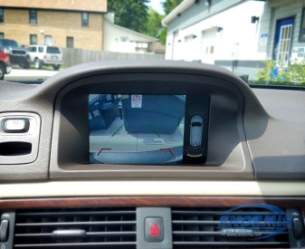 2012 Volvo XC70 Camera Display Showing Integration