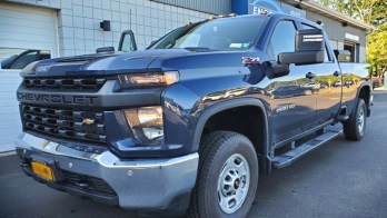 2020 Chevy Cab Lights Installed on Silverado 2500 HD