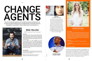 Enough, 1/2015, Change, Change Agents