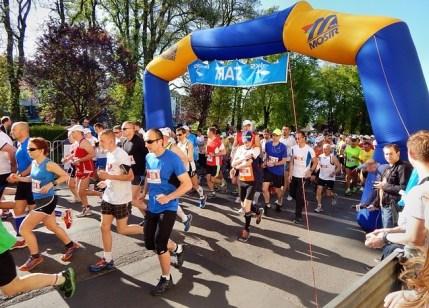 41. Einen Marathon laufen