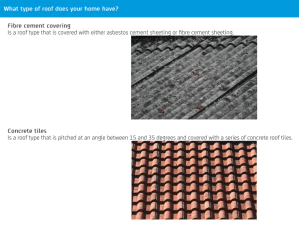 NRMA Building Insurance Calculator roof material help.