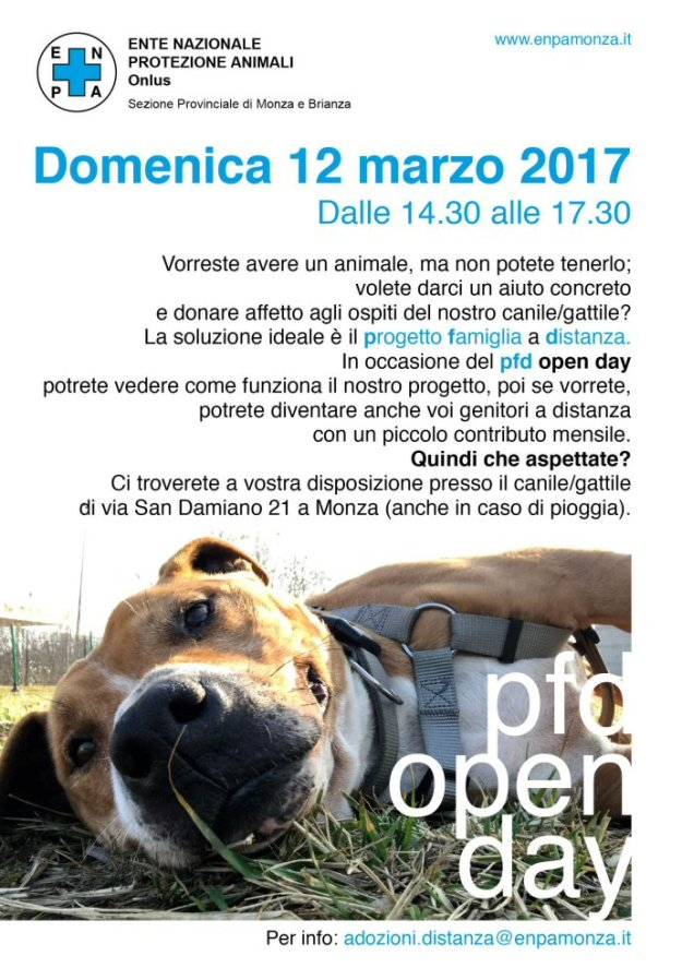 sito-690-cartello pfd openday17_cane