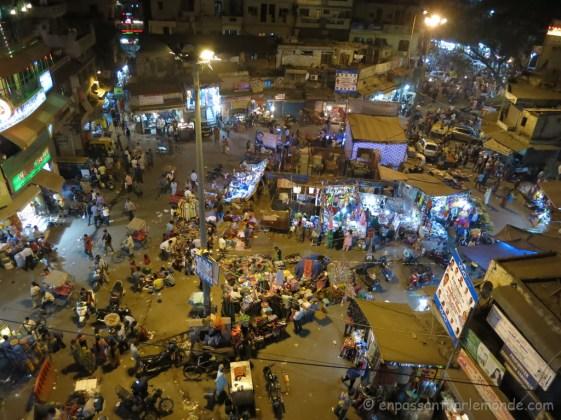 Main Bazar depuis un rooftop
