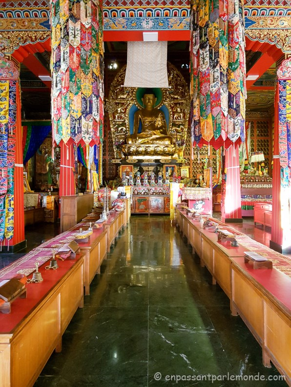 Népal - Katmandou - Benchen Monastery-5