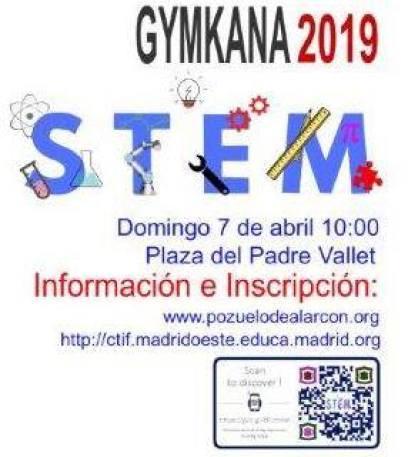 Resultado de imagen de gymkhana stem pozuelo 2019