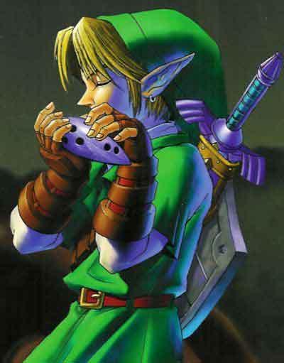 Link si conoce su destino y viaja en el tiempo. Link mola.