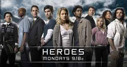 Si quiero HEROES descargo HEROES. Dios como mola.