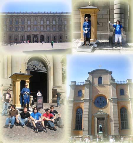 El Palacio Real Sueco.