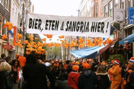 Resumen del Koninginnedag (2/2).