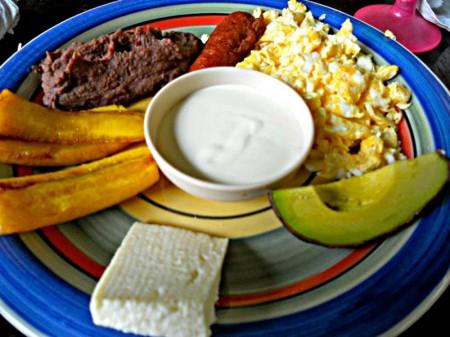 desayuno honduras