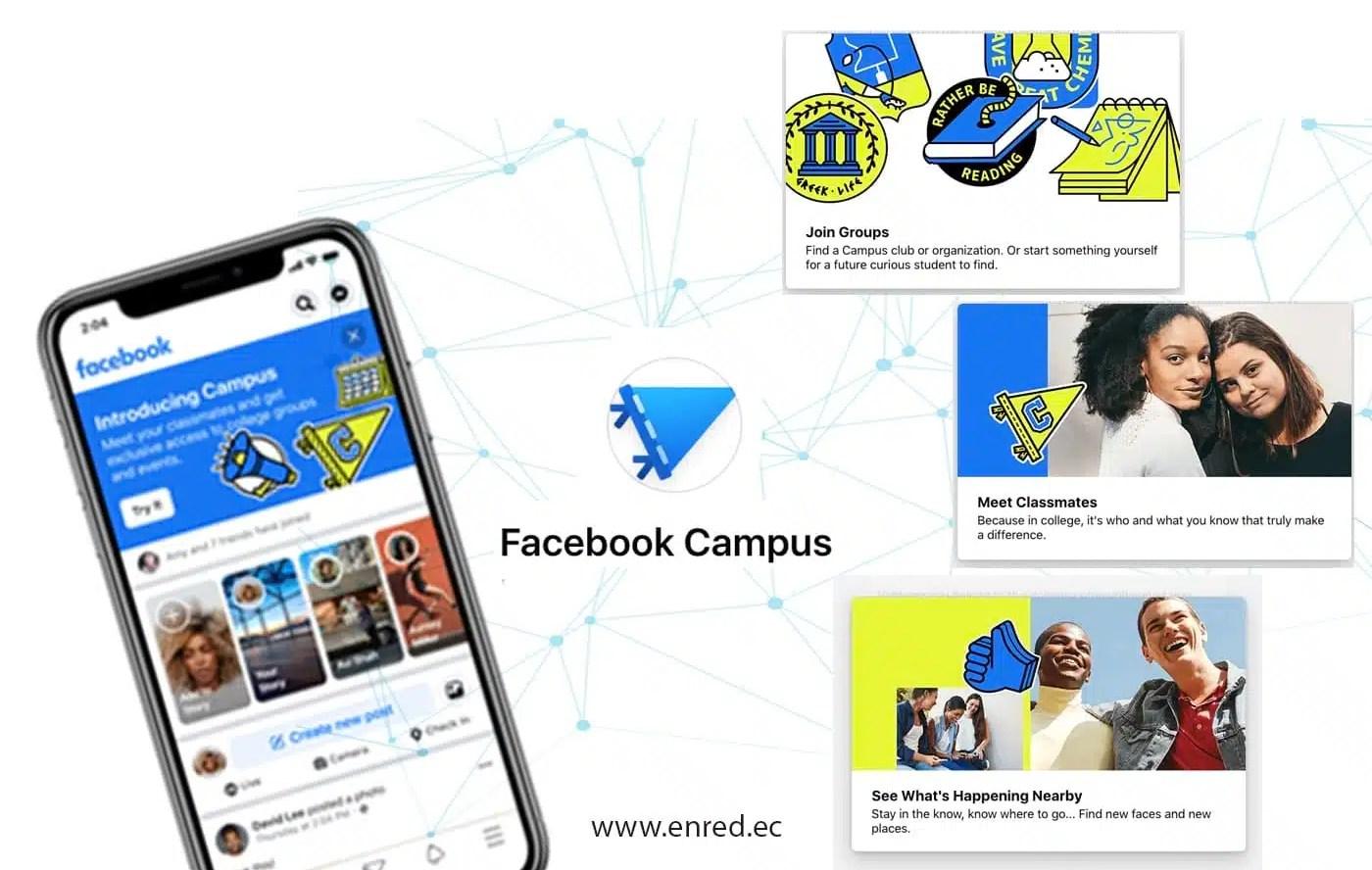 """Facebook presenta """"Campus"""", un espacio para universitarios"""