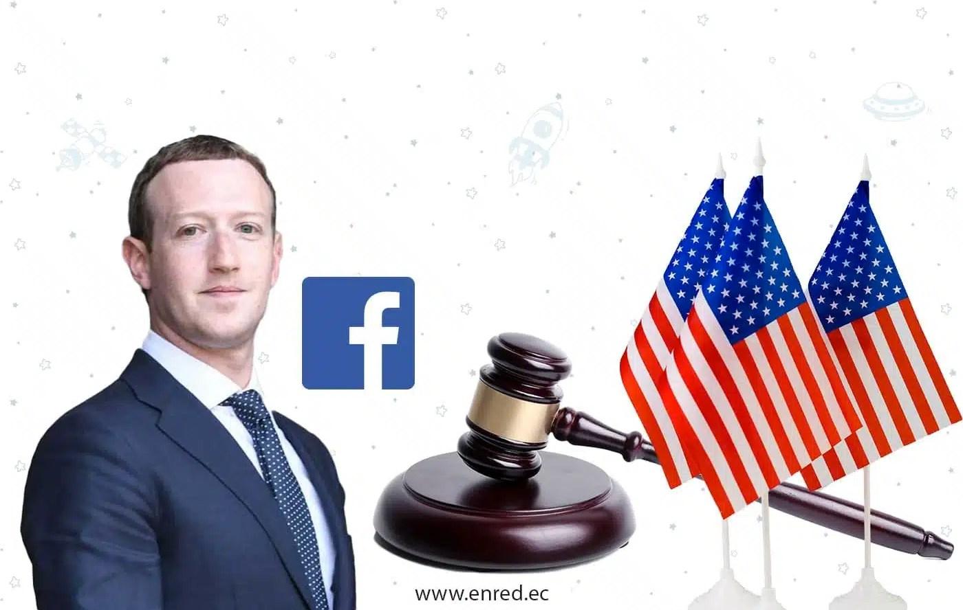 EEUU demanda a Facebook