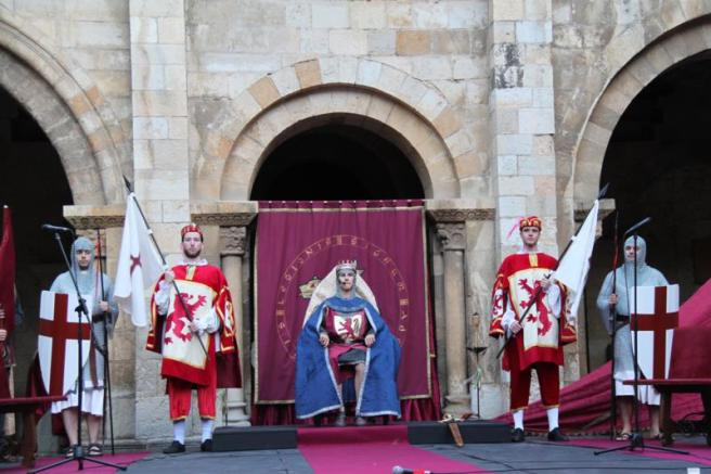 recreación cortes leonesas 1188