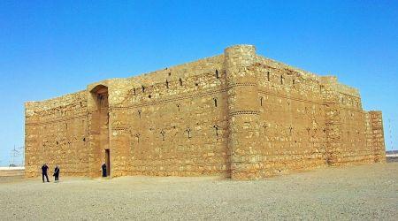 Qasr al–Kharaneh castillos jordania
