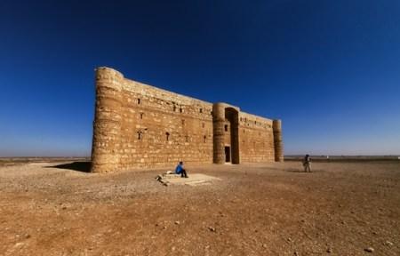 castillos jordania