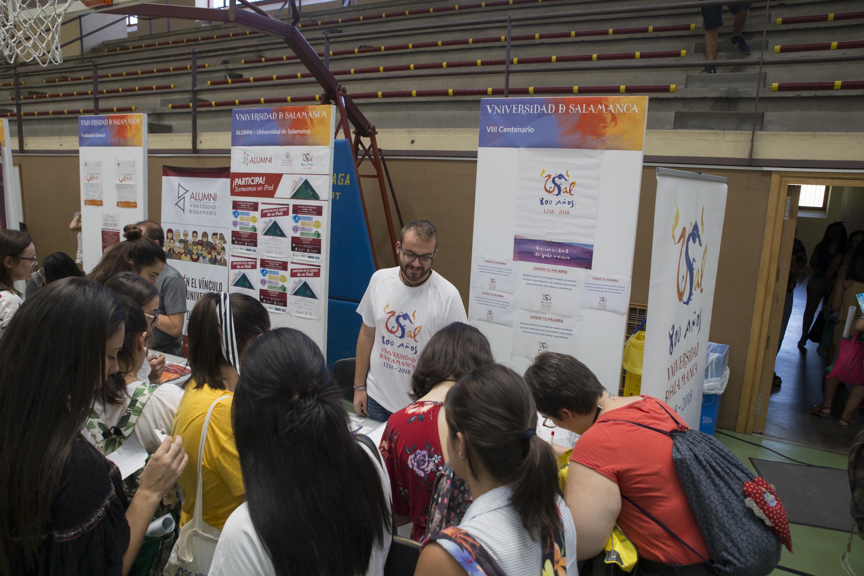 La Universidad de Salamanca celebra su Feria de Bienvenida para el ...