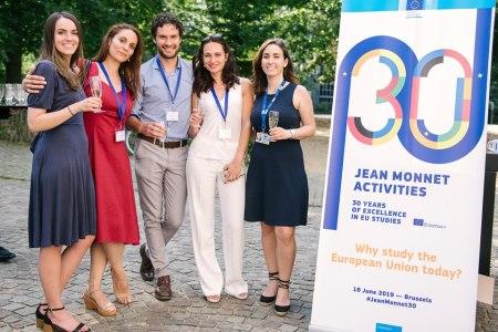30.º aniversario de las actividades Jean Monnet