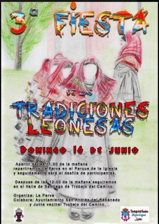 Cartel Fiesta de las tradiciones leonesas