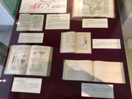 exposición 175 años biblioteca pública de león