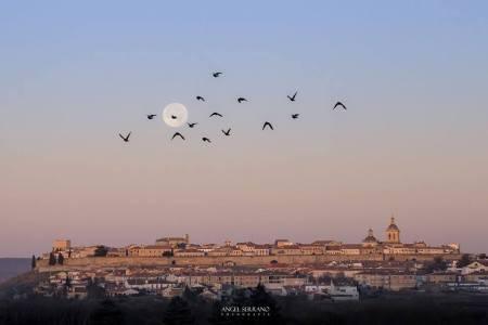 panorámica ciudad rodrigo