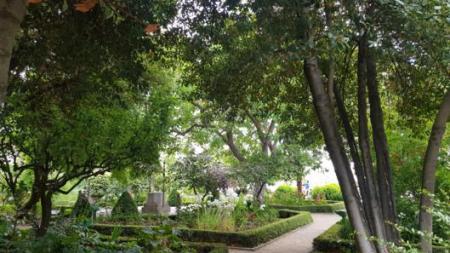 el jardín de calixto y melibea