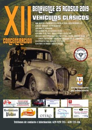 XII CONCENTRACIÓN DE VEHÍCULOS CLÁSICOS