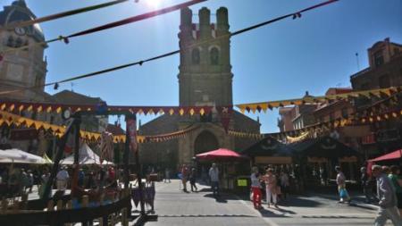 mercado medieval de la bañeza