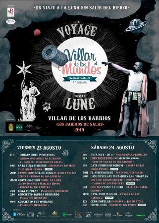 cartel Festival villar de los mundos