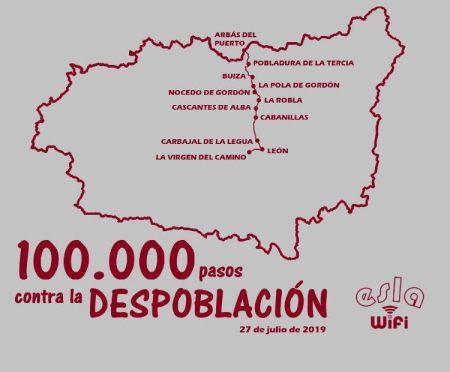 100.000 pasos contra la despoblación