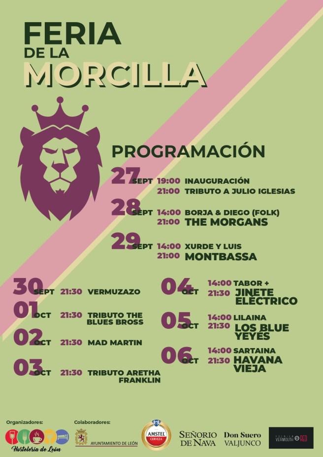 Programacion Feria de la morcilla León