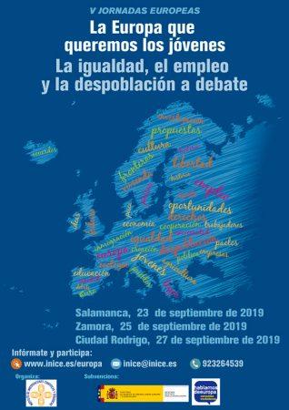 cartel V jornadas europeas