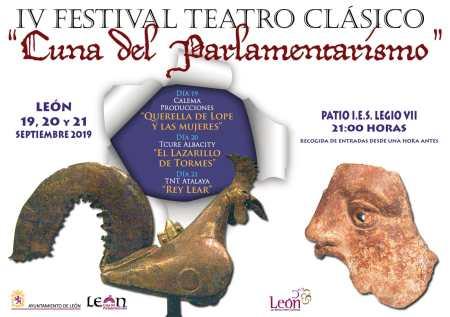 festival de teatro león cuna del parlamentarismo 2019