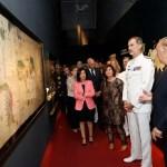 """EL REY INAUGURÓ EN EL MUSEO NAVAL LA EXPOSICIÓN TEMPORAL """"FUIMOS LOS PRIMEROS. MAGALLANES, ELCANO Y LA VUELTA AL MUNDO"""""""