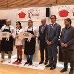 ganadores del II Concurso de Cocina con Ibérico