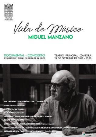 VIDA DE MUSICO MIGUEL MANZANO