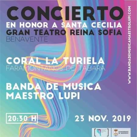 concierto santa cecilia 2019 benavente