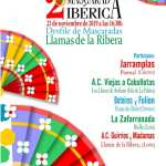 mascarada ibérica 2019 llamas de la ribera