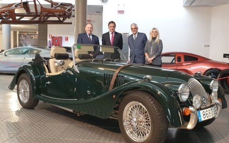 Museo de Historia de la Automoción de Salamanca Morgan 4/4 2 Seater