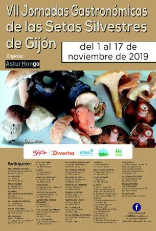 VII Jornadas gastronómicas de las setas silvestres de Gijón