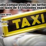 comparativa tarifas de taxi