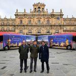 autobuses de la línea Salamanca-Madrid del Grupo Avanza