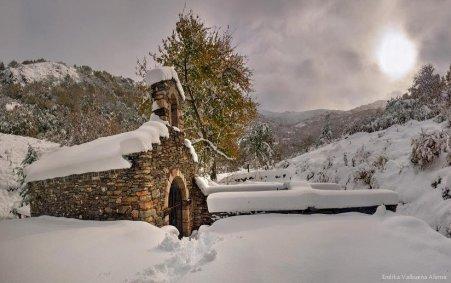 La ermita de San Justo, en el Villar de Santiago