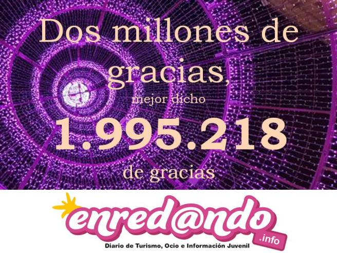 Dos millones de gracias