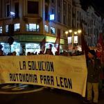 manifestación por el futuro de León